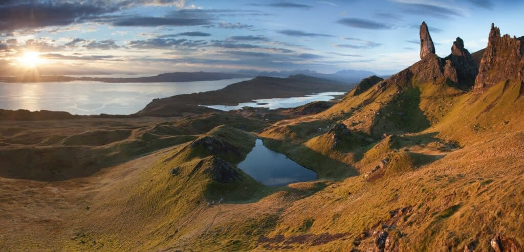 The Old Man of Storr, Isle of Skye, Scotland - One of the most popular UK landscape photography locations.