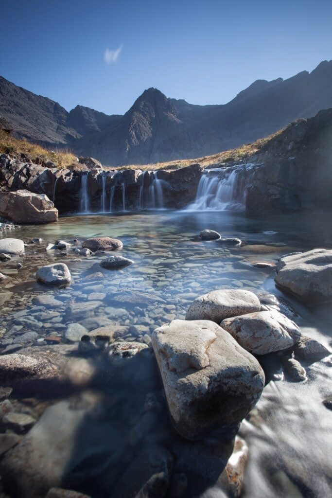 Fairy Pools, Isle of Skye, Scotland - A renowned UK landscape photography location.